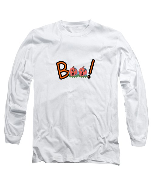 Boo Long Sleeve T-Shirt