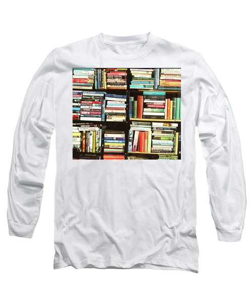 Long Sleeve T-Shirt featuring the photograph Book Shop by Rebecca Harman