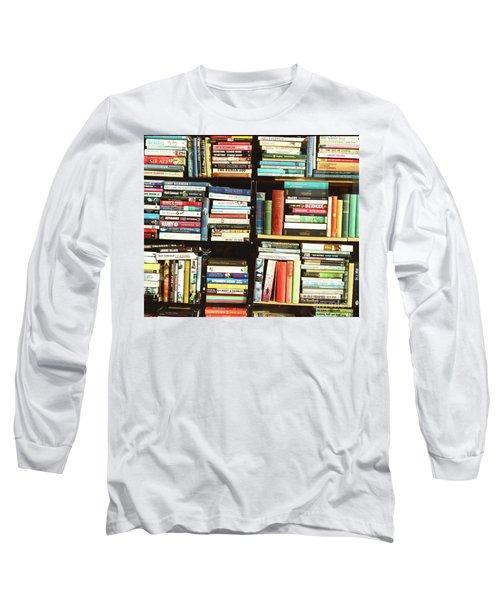 Book Shop Long Sleeve T-Shirt by Rebecca Harman