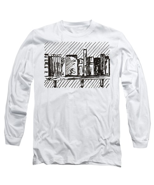 Bookshelf 1 2015 - Aceo Long Sleeve T-Shirt