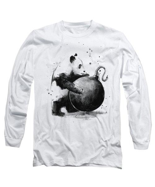 Boom Panda Long Sleeve T-Shirt