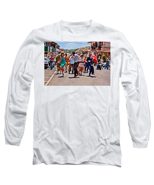 Boquete Jazz Festival 2012 Long Sleeve T-Shirt
