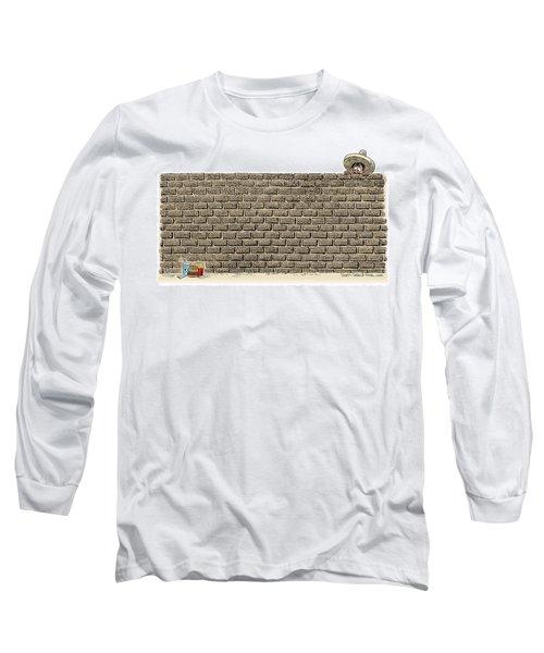 Border Wall Long Sleeve T-Shirt