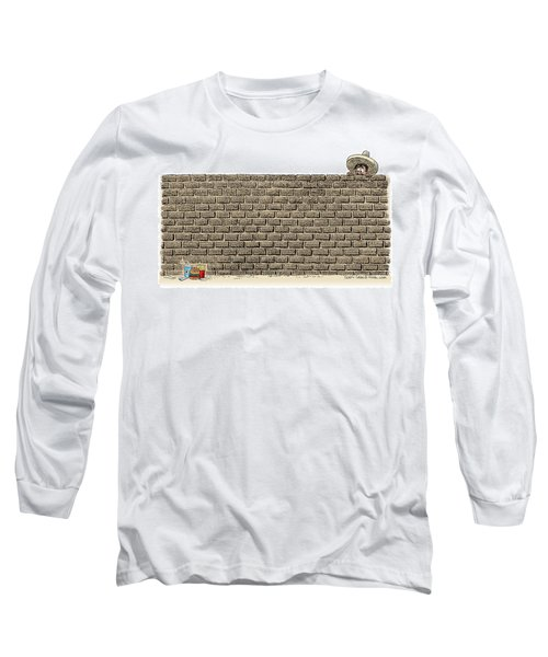 Border Wall Long Sleeve T-Shirt