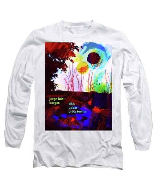 Borges Tlon Poster 2 Long Sleeve T-Shirt