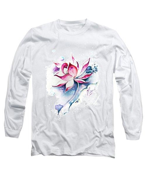 Born For Freedom Long Sleeve T-Shirt by Anna Ewa Miarczynska