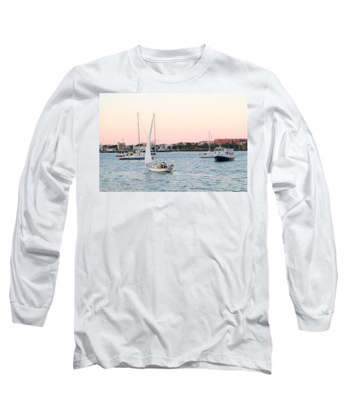 Boston Harbor View Long Sleeve T-Shirt