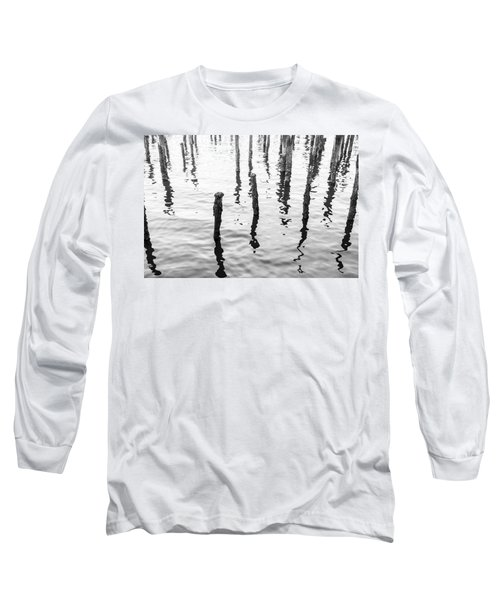 Boston Wharf Ruins Long Sleeve T-Shirt