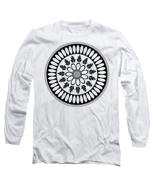 Botanical Ornament Long Sleeve T-Shirt by Frank Tschakert
