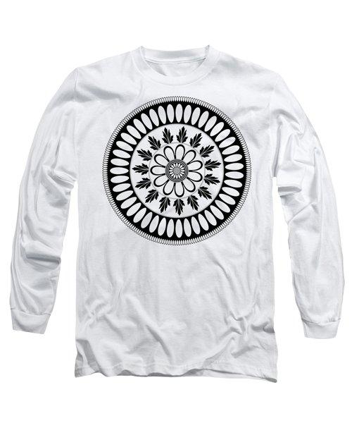 Botanical Ornament Long Sleeve T-Shirt