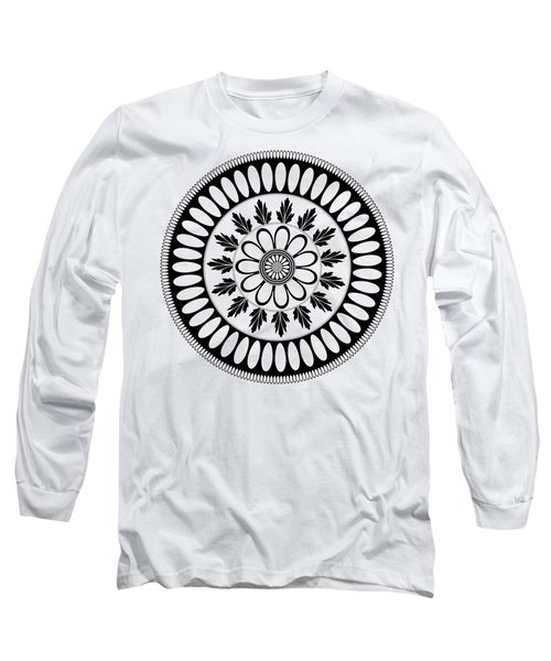 Botanical Ornament Long Sleeve T-Shirt