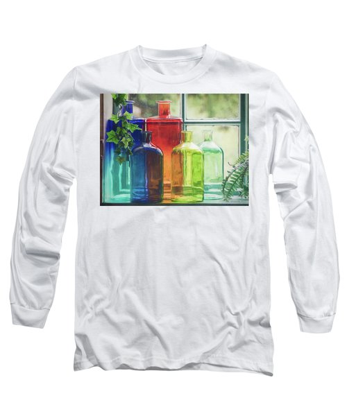 Bottles In The Window Long Sleeve T-Shirt