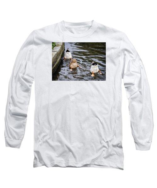 Bottoms Up Long Sleeve T-Shirt