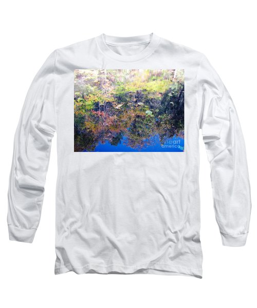 Long Sleeve T-Shirt featuring the photograph Bottoms Up Sunlight by Melissa Stoudt