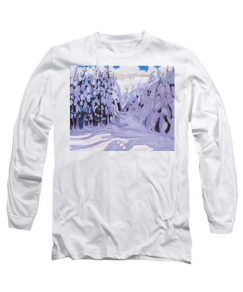 Boughs Before The Wind Long Sleeve T-Shirt