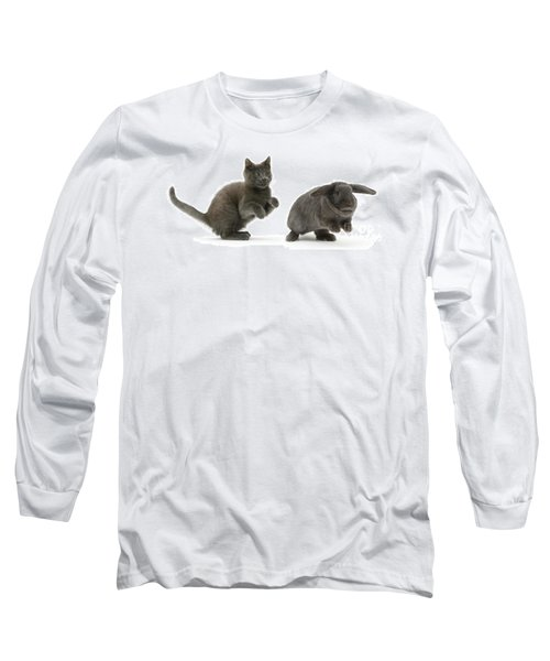 Bouncing With Bunny Long Sleeve T-Shirt