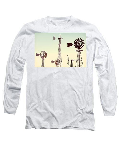 Bountiful Windmills Long Sleeve T-Shirt