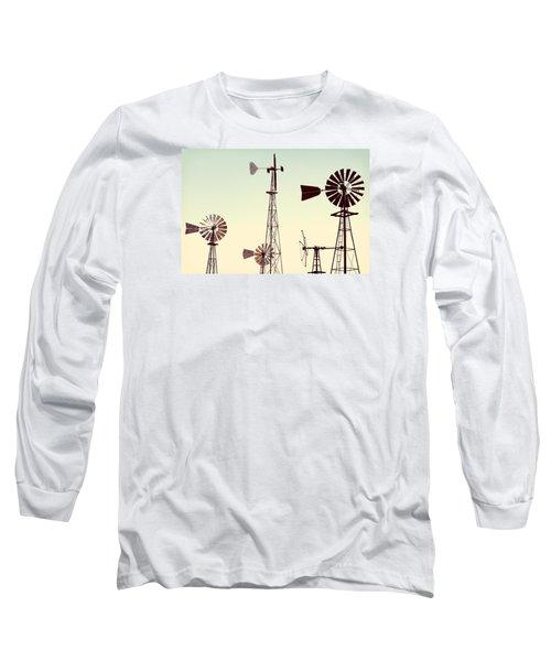 Bountiful Windmills Long Sleeve T-Shirt