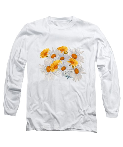Bouquet Of Wild Flowers Long Sleeve T-Shirt
