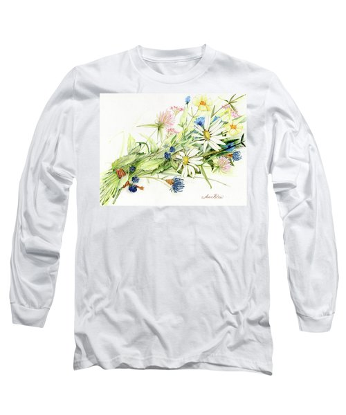 Bouquet Of Wildflowers Long Sleeve T-Shirt