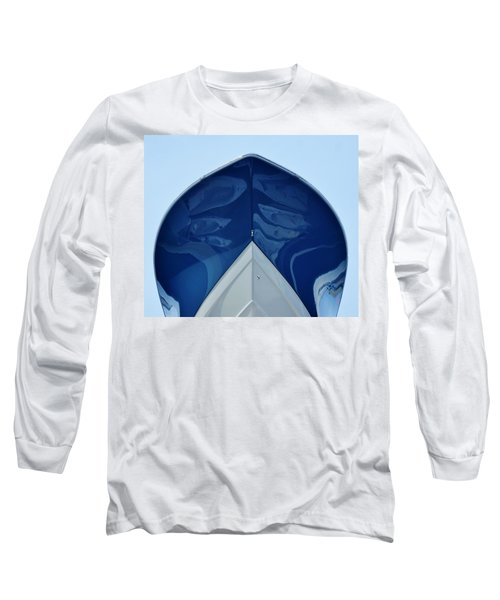 bow, deep V Long Sleeve T-Shirt by John Wartman