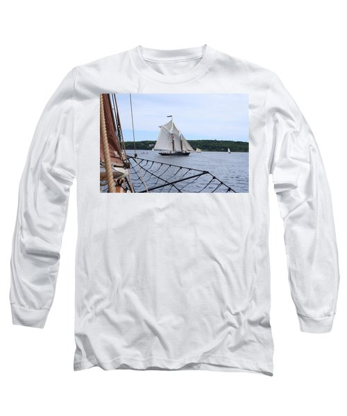 Bowditch Under Full Sail Long Sleeve T-Shirt