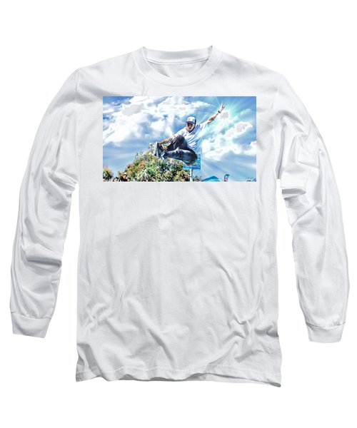 Bowlriders, Skateboarder Long Sleeve T-Shirt