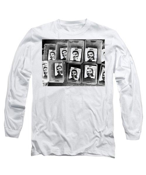 Boxers Boxes Long Sleeve T-Shirt by WaLdEmAr BoRrErO