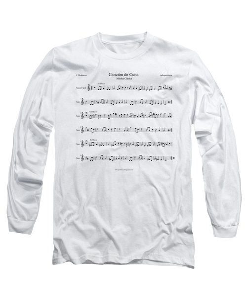 Brahms Lullaby Long Sleeve T-Shirt