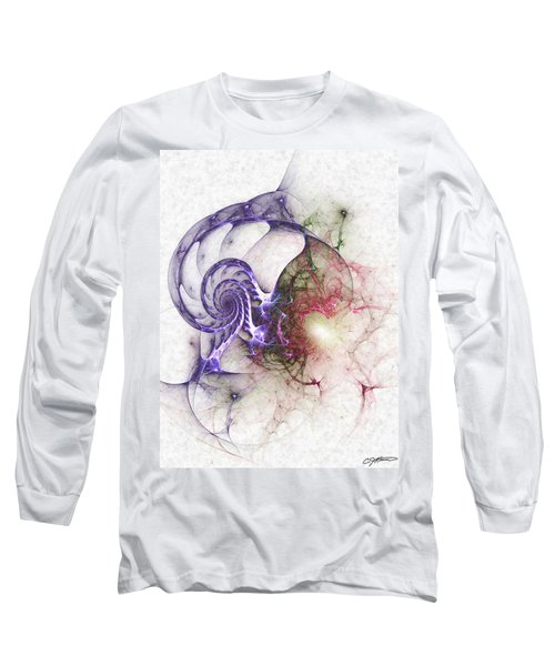 Brain Damage Long Sleeve T-Shirt by Casey Kotas