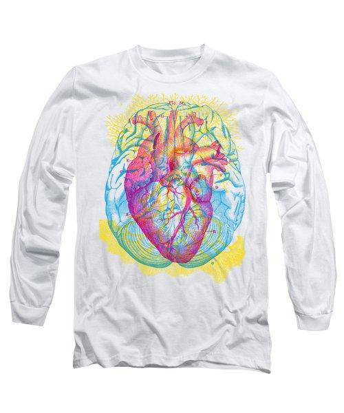 Brain Heart Circulation Long Sleeve T-Shirt