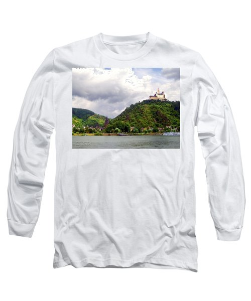 Long Sleeve T-Shirt featuring the photograph Brambach Germany by Joan  Minchak