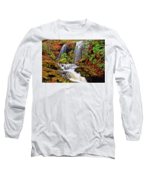 Brasstown Falls 013 Long Sleeve T-Shirt