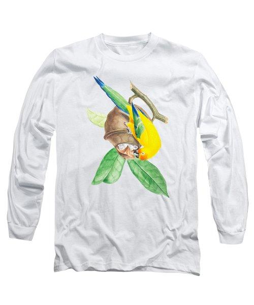 Brazilian Parrot Long Sleeve T-Shirt