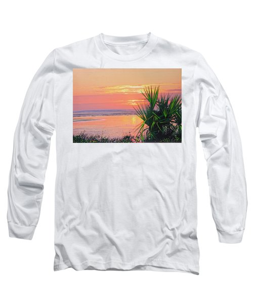 Breach Inlet Sunrise Palmetto  Long Sleeve T-Shirt
