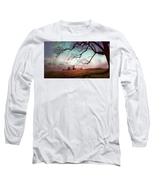 Break Of Dawn Long Sleeve T-Shirt by John Rivera