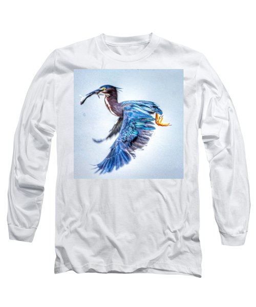 Breakfast Long Sleeve T-Shirt by Sumoflam Photography
