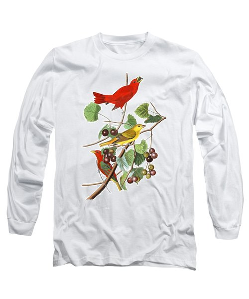 Long Sleeve T-Shirt featuring the photograph Breakfast Time by Munir Alawi