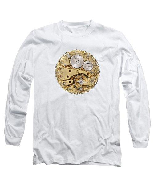 Breaking Apart Clockwork Mechanism Long Sleeve T-Shirt