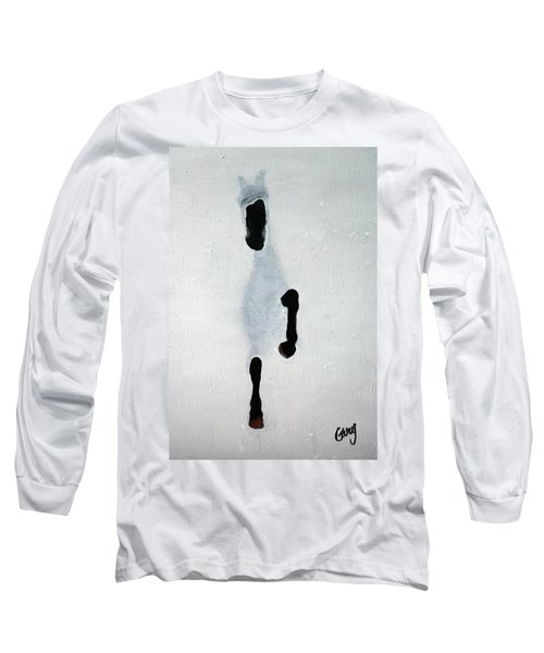 Long Sleeve T-Shirt featuring the painting Breaking Through by Gary Smith