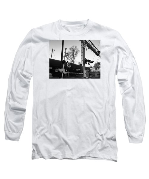 Breeze Black And White Long Sleeve T-Shirt