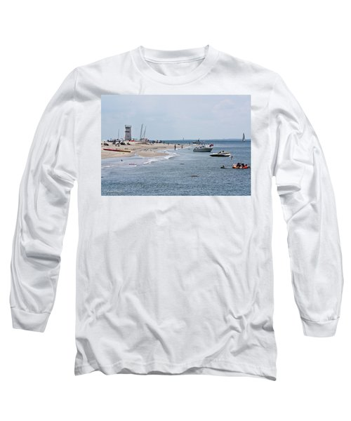Breezy Point Lighthouse Long Sleeve T-Shirt