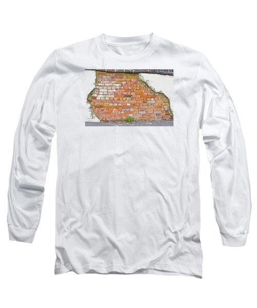 Long Sleeve T-Shirt featuring the photograph Brick And Mortar by Wanda Krack