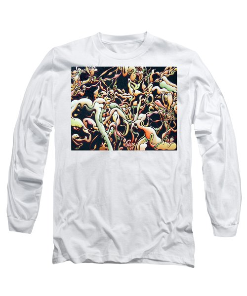 Bricolage With Cabbage Long Sleeve T-Shirt