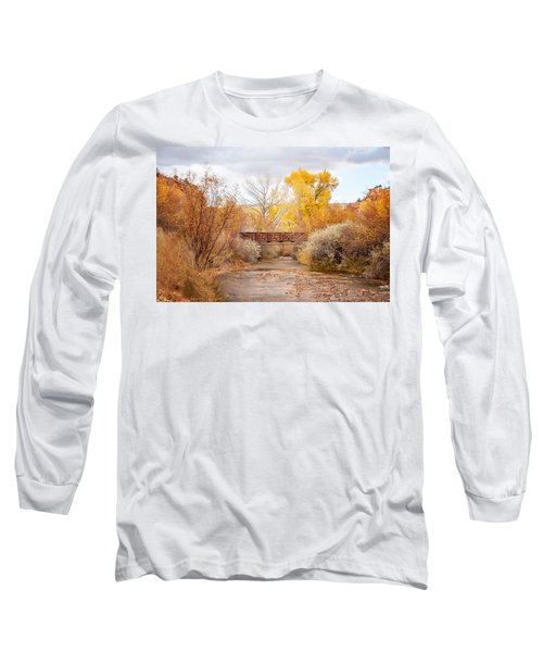 Bridge In Teasdale Long Sleeve T-Shirt