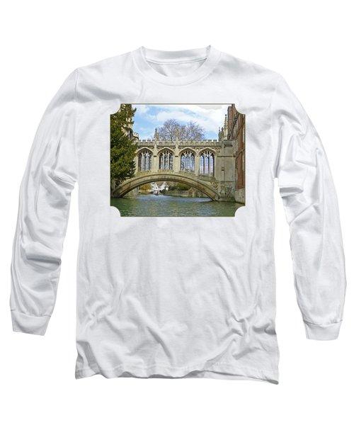Bridge Of Sighs Cambridge Long Sleeve T-Shirt