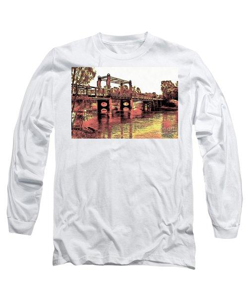 Bridge Over Murray River Long Sleeve T-Shirt