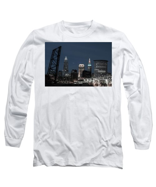 Bridges And Buildings Long Sleeve T-Shirt