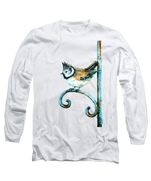 Bridled Titmouse Long Sleeve T-Shirt