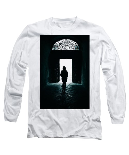 Bright Ancient Doorway Long Sleeve T-Shirt